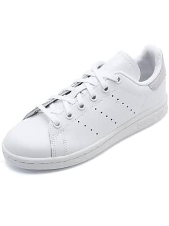 adidas Originals Tênis Couro adidas Originals Stan Smith J Branco
