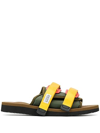 Suicoke touch strap sandals - Green