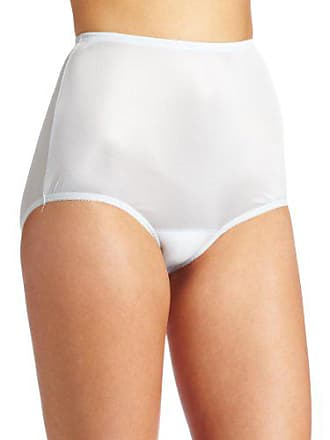 Vanity Fair Womens Perfectly Yours Ravissant Tailored Nylon Brief Panty - Size X-Large / 8 - Soft Blue