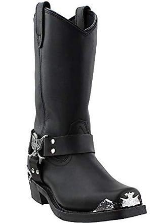 Dingo Mens Chopper Harness Boot,Black,13 D US