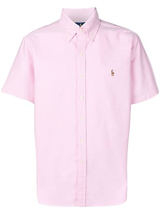 Polo Ralph Lauren logo short-sleeve shirt - Pink
