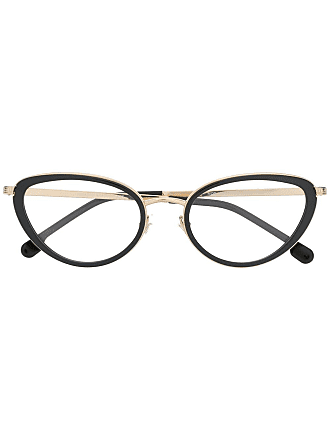 Versace cat-eye glasses - Black