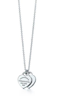 d013cba2e Tiffany & Co. Return to Tiffany mini double heart tag pendant in sterling  silver