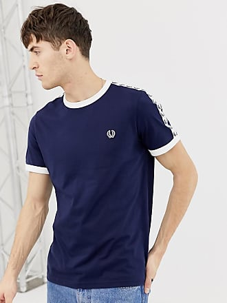 61149f0d4 Fred Perry Sports Authentic taped ringer t-shirt in navy