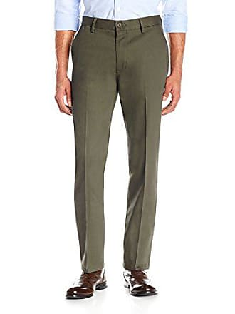 Goodthreads Mens Slim-Fit Wrinkle-Free Dress Chino Pant, Olive, 30W x 32L