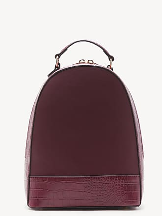 Sole Society Womens Jamya Backpack Vegan Berry One Size Vegan Leather From Sole Society