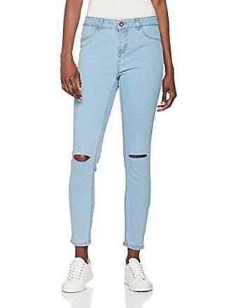 31e2047832 New Look 5164457-Vaqueros Skinny Mujer Azul Azul (Light Blue 45) 6W x