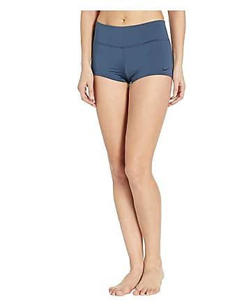 1556b0df93 Nike Solid Kick Shorts (Monsoon Blue) Womens Swimwear