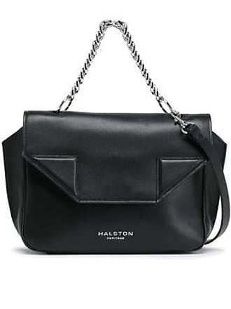 Halston Heritage Halston Heritage Woman Leather Shoulder Bag Black Size