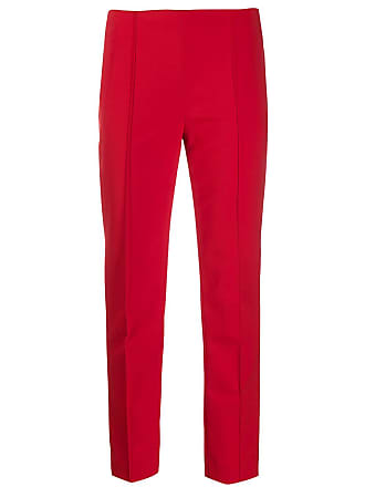 Escada cropped tailored trousers - Vermelho