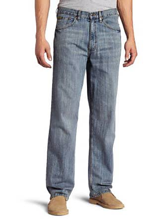 Lee Lee Mens Premium Select Relaxed Fit Straight Leg Jean, Faded Light, 32W x 36L