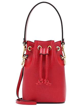 Fendi Mon Trésor Mini leather bucket bag 460c7f34dc116