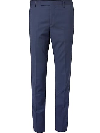 901a1c8e Paul Smith Navy Soho Slim-fit Puppytooth Wool Suit Trousers - Navy