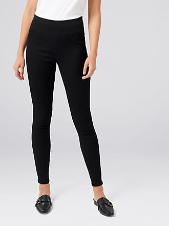 b196590a2f6fc Forever New Carla High-Rise Jeggings - Black. - 10