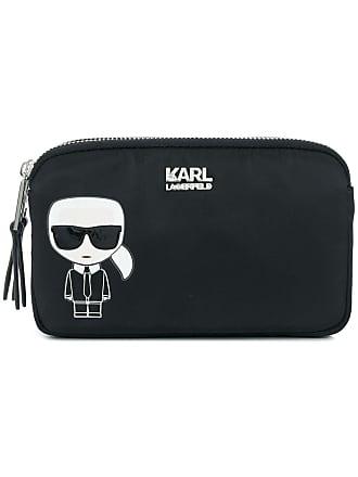 Karl Lagerfeld Clutch Ikonik - Preto