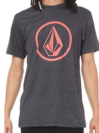Volcom Camiseta Circle Stone Masculino Volcom Preto Mescla - GG