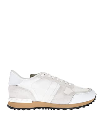 dc10080b78c01 Valentino Rockrunner Camouflage sneakers in white