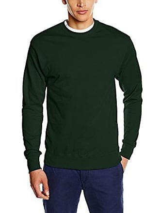 9bfd42262cd36 Fruit Of The Loom SS126M, Sweat-Shirt Homme, Green (Bottle Green)