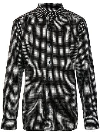 Tom Ford Camisa com estampa geométrica - Preto
