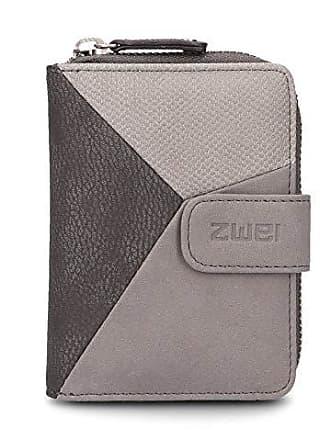 ee28117d18d246 zwei Jana J1 kleine Geldbörse Portemonnaie Geldbeutel Brieftasche, Farbe: Nubuk Stone