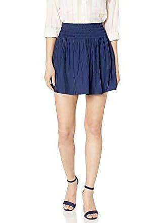 Ramy Brook Womens Paris Skirt, Spring Navy, Small