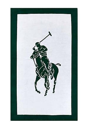 Ralph Lauren Home Polo Jacquard Beach Towel - White/Green