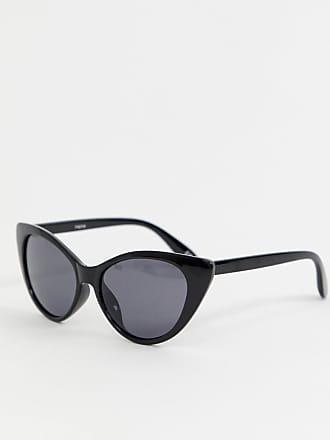 Reclaimed Vintage Inspired - Lunettes de soleil yeux de chat - Noir -  Exclusivité ASOS - bd55139d6304