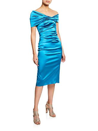 eea60af2003 Talbot Runhof Sole Asymmetric One-Shoulder Cocktail Dress