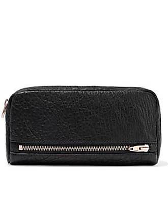 Alexander Wang Alexander Wang Woman Fumo Pebbled-leather Continental Wallet Black Size
