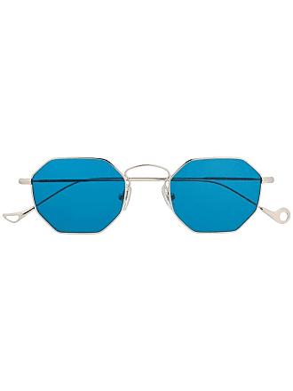 Eyepetizer Óculos de sol geométrico - Prateado