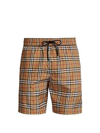 687c6a2d8 Burberry Vintage Check Swim Shorts - Mens - Camel