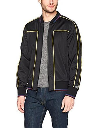 2(x)ist Mens Track Suit Bomber Jacket Outerwear, Black, Large