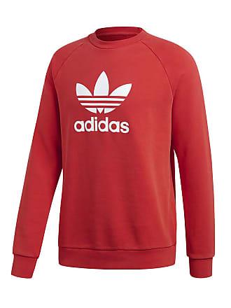 felpa adidas donna rossa con zip