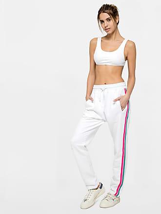Sundek sofy-pants with three rainbow bands