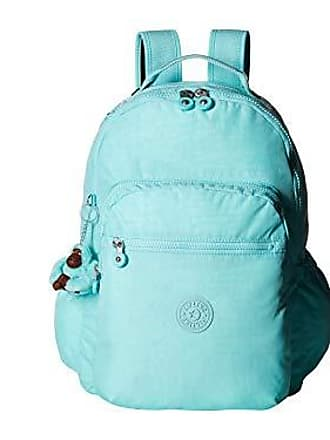 Kipling Seoul Go Laptop, Padded, Adjustable Backpack Straps, Zip Closure, Fresh Teal Tonal