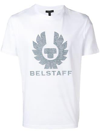 Belstaff Camiseta com logo - Branco
