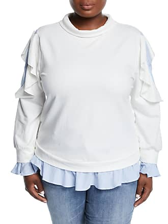Lumie Layered Ruffle Pullover Sweatshirt, Plus Size