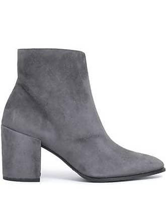 9dd78d206b4 Stuart Weitzman Stuart Weitzman Woman Suede Ankle Boots Anthracite Size 40.5