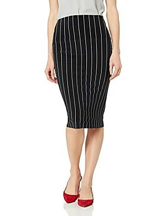 Norma Kamali Womens Tube Skirt, Pinstripe M