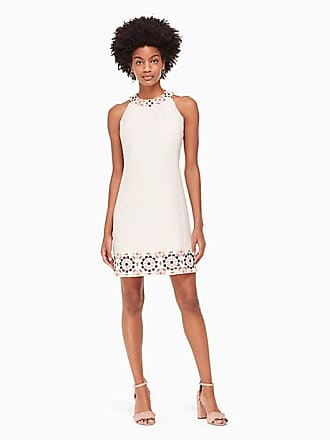 716adc6a18bee2 Kate Spade New York Mosaic Embellished Shift Dress, Pearl Pink - Size 2