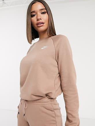 Nike Essentials - Sweat-shirt ras de cou - Beige