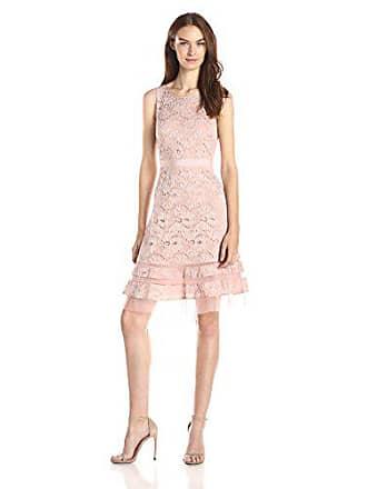 Bcbgmaxazria Womens Elaina Sleeveless A-Line Dress, Shadow Blush, 8