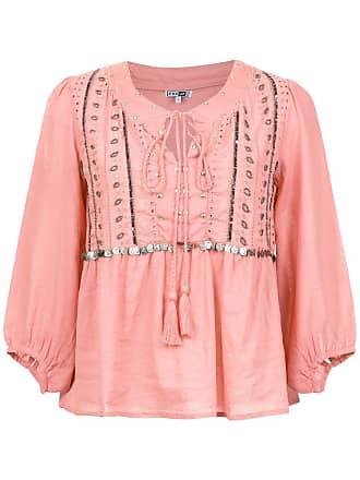 Pop Up Store Bata com bordado - Rosa