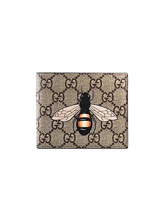 97cafd2c9 Gucci Carteira GG Supreme com abelhas - Neutro