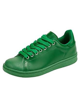 730317bb8688 Heine Damen Sneaker in sommerlichen Farben, grün, Gr. 36, heine