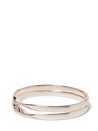 Forever New Harlow Twist Bangle Two-Pack - Rose Gold - 00
