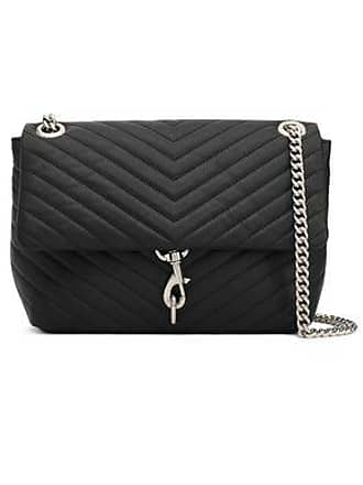 Rebecca Minkoff Rebecca Minkoff Woman Quilted Textured-leather Shoulder Bag Black Size