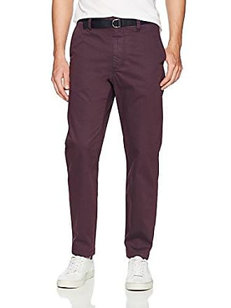 ae81def839 Perry Ellis Mens Pigment Dyed Cargo Pant, Cordovan 36W X 32L