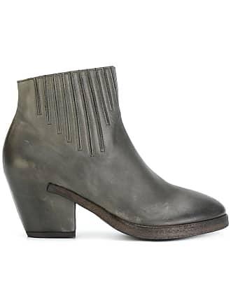 Del Carlo Ankle boot de couro - Cinza