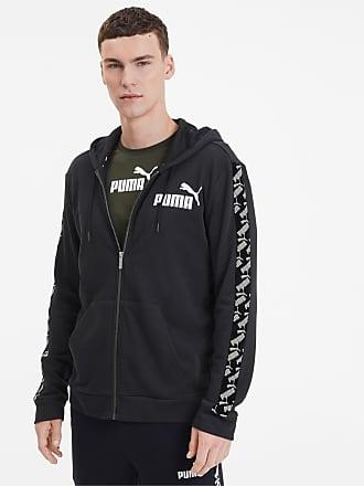 Puma Amplified Training Full Zip Mens Hoodie, Black, size 2X Small, Clothing